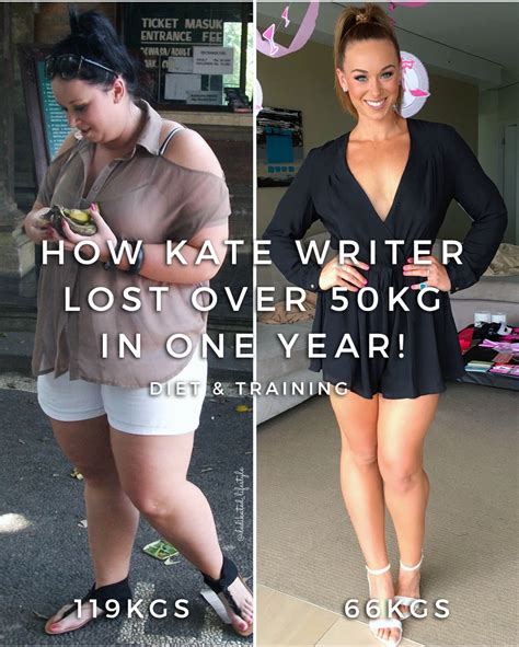 weight loss 60 kg to 50kg kate writer lost 50kgs in a year to completely