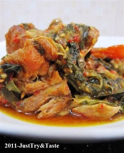 resep ayam woku belanga food indonesian cuisine