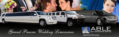 Wedding Limousine Services by Grand Prairie Wedding Limo Service Rental By Able Suv