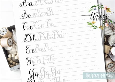 calligraphy handlettering for beginners beginner practice workbook for lettering and modern calligraphy with more than 40 different lettering fonts books lettering worksheets calligraphy tutorial printable