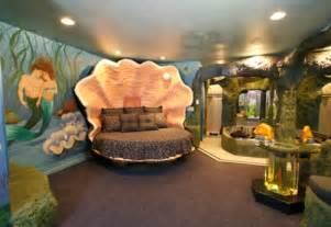 Ariel awesome bed bedroom decor interior design luxury mermaid