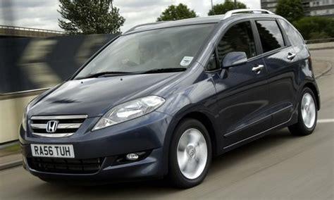 honda plans to kill six seater fr v minivan in the uk