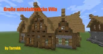 minecraft altes haus minecraft gro 223 e mittelalterliche villa einrichtung 2