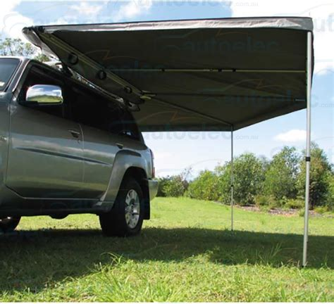 supa wing awning 4wd 4x4 fox sky bat supa wing wrap around awning 2500mm