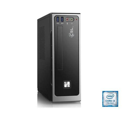 Pc Komputer Cpu Gaming Intel High I3 Ddr4 Gtx1060 Paket A csl mini pc i3 7100 intel hd 630 4 gb ddr4 120 gb ssd 187 mini itx i3 7100 3 windows