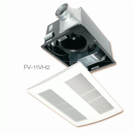 panasonic bathroom heater panasonic whisperwarm bathroom fan with heater fv 11vh2 ebay
