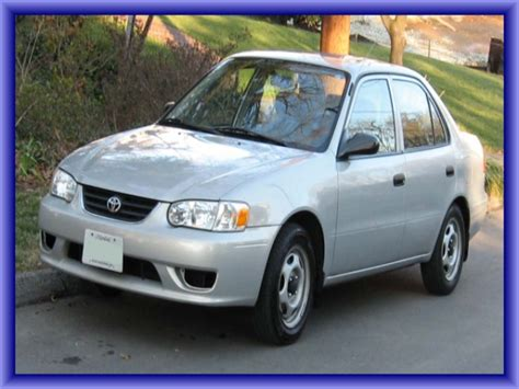 P0420 Toyota Corolla 2002 Jakob Says My 2002 Toyota Corolla Has A P0420 And The
