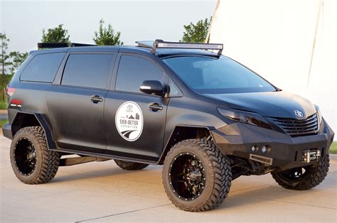 Toyota Road Don T Mess With This Minivan Toyota Builds An Road