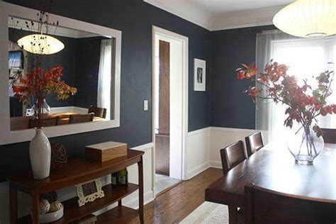 paint color portfolio blue dining rooms