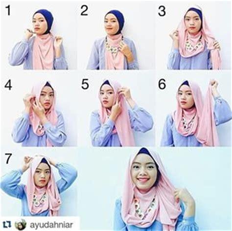 tutorial hijab dengan aksesoris kalung kumpulan tutorial hijab kalung simple 2016