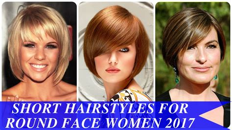 hairstyles 2017 for round faces short hairstyles for round faces 2017 hairstyles ideas