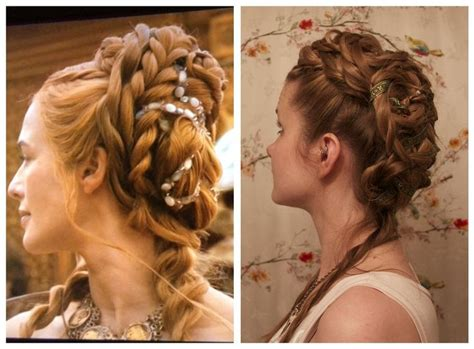medieval wedding hairstyles how to 46 best medieval hair images on pinterest hair makeup