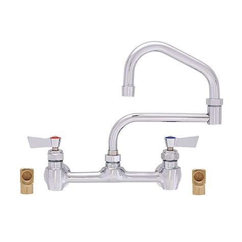 fisher 55603 backsplash mounted faucet with 8 quot centers 21