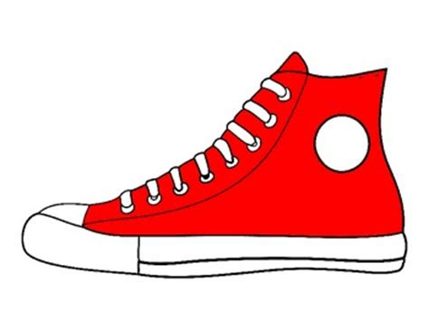 Pete The Cat Shoe Template by Brown School Shoes Clipart
