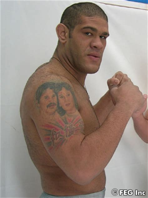 bigfoot silva tattoo antonio silva could fight for sengoku heavyweight title in