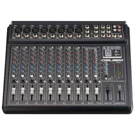 Audio Mixer Linkmaster 12 Channel 12 Ch Mono disc carlsbro megamix 12dsp mikser audio na gear4music