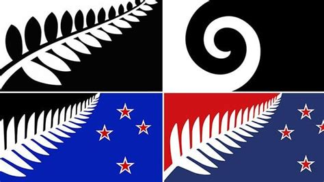 flag design contest new zealand new zealand flag competition final four designs revealed