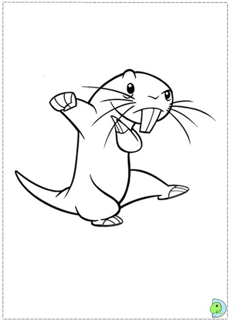kim possible coloring page dinokids org