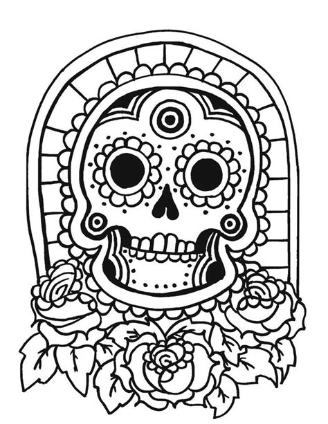 hawaiian tiki masks coloring pages sketch coloring page