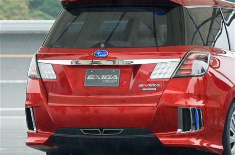 subaru exiga concept 2007 subaru exiga concept xxi century cars