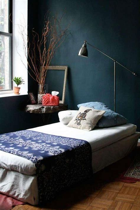 Dark Blue Bedroom | navy dark blue bedroom design ideas pictures