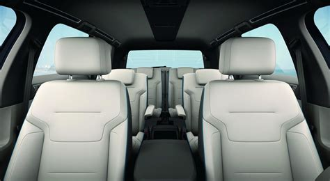 volkswagen atlas interior vw atlas seven seat suv release date cars