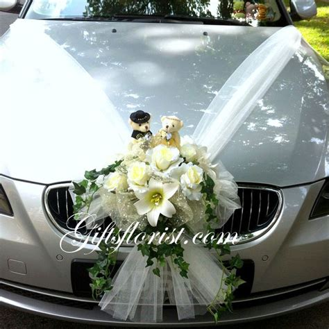 Decorate Wedding Car With Pink Flowers by Wedding Car Decoration Photos Search Wedding