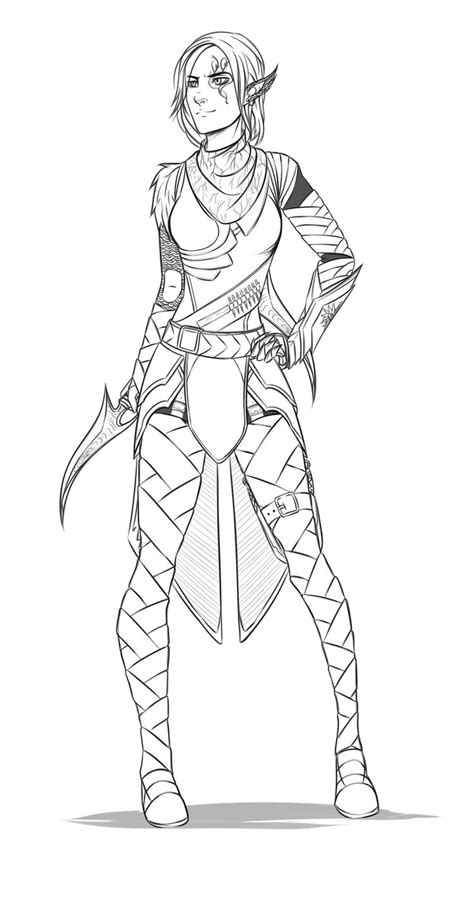 dragon age coloring page 178 best images about coloring pages on pinterest