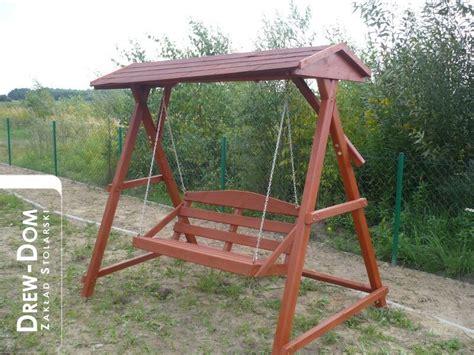 bench swings zakład stolarski meble ogrodowe drewutnie altany