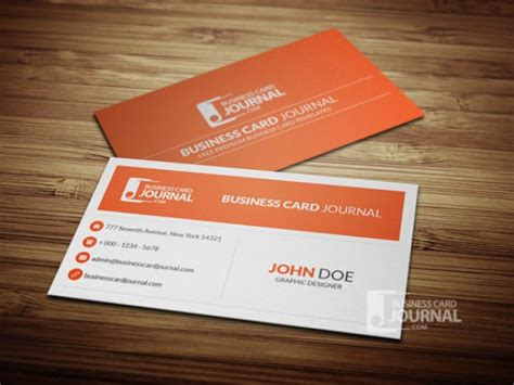 card template free psd clean business card template psd psd file free
