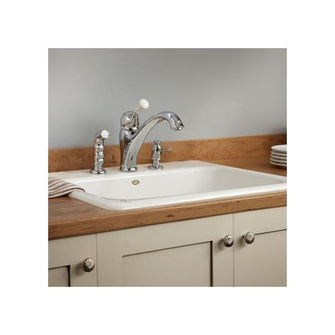 almond kitchen faucet faucet 2121084 83 in almond by american standard