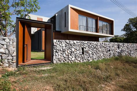 modern gate design for house contemporary w house designed by idin architects