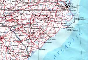map of usa carolina carolina outline maps and map links