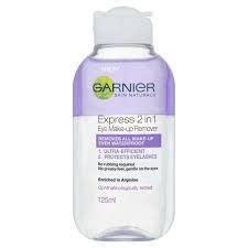 Garnier Makeup Remover garnier express 2 in 1 eye makeup remover reviews photos ingredients makeupalley