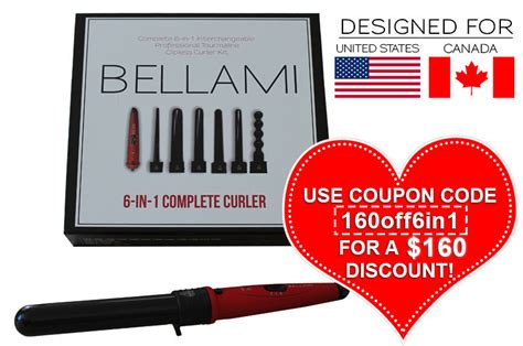belami 6 in 1 hair curler bellami hair curler set 6 in 1 beautytalk