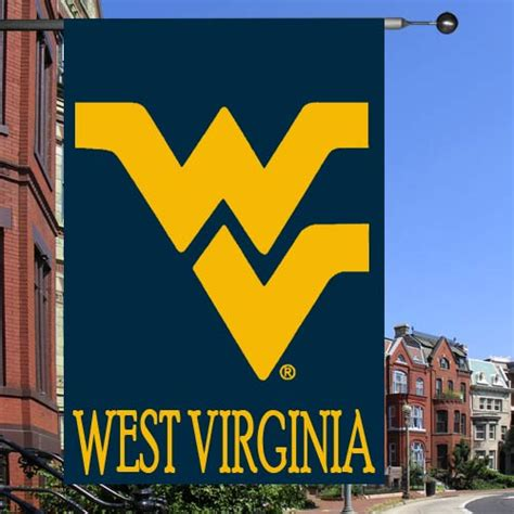 28 wvu home decor west virginia seal flag state mountaineers flags and banners sports decor