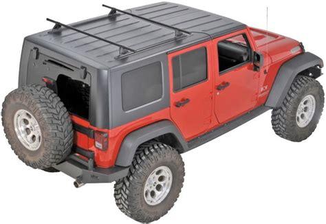 Jeep Wrangler Roof Hoist Yakima 8001616 Top Roof Track Rack For 07 17 Jeep