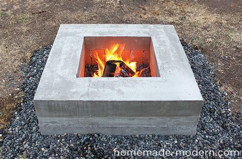 diy pit concrete modern ep46 concrete pit