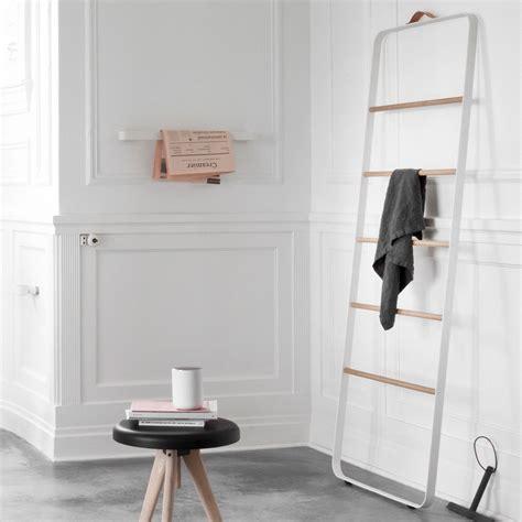 bathroom towel ladder leo bella menu bath towel ladder white light oak