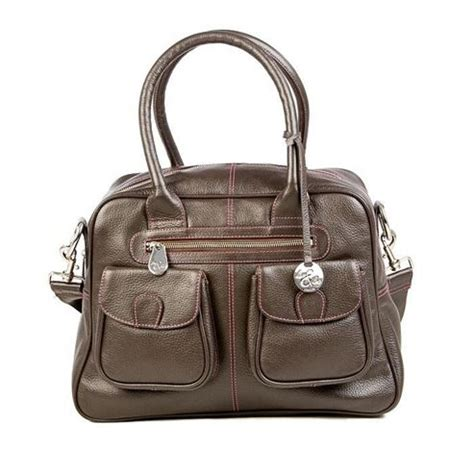 And Leo Baby Bag by And Leo Leather Changing Bag Chocolate Mums
