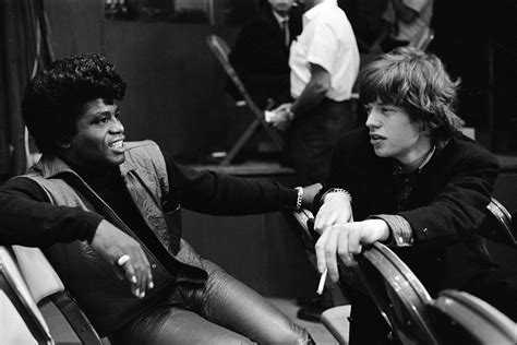 Brown And Jagger brown and mick jagger meet 1965 oldschoolcool