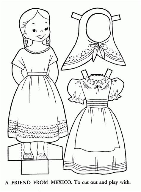 mexican coloring pages  kids printable colouring