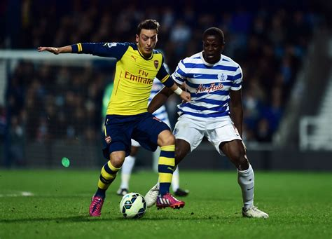 arsenal qpr 214 zil rosicky mugged off sandro