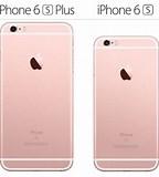 Image result for iphone 6s vs 6s plus size comparison