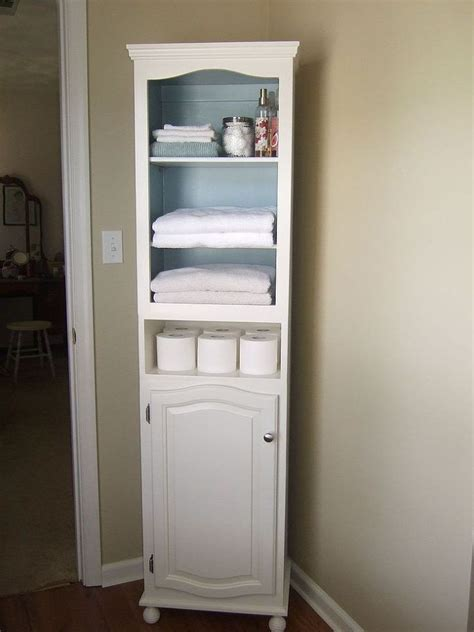 Bathroom Cabinets And Shelves Unique Best 25 Linen Cabinet Ideas On Pinterest Farmhouse Bath Linens In Bathroom Storage