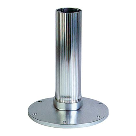 boat seat pedestal canada garelick 174 ribbed series fixed height pedestal 171764
