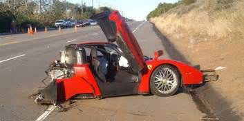 Enzo Wreck Wrecked Enzo Sells For 1 7 Million Business Insider