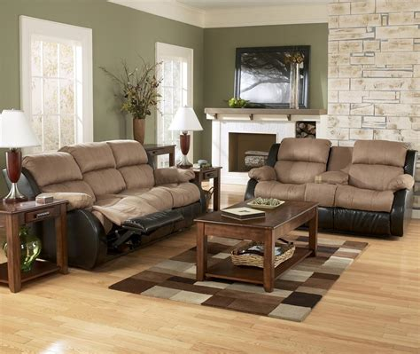 buy ashley furniture 9670138 9670135 set mykla shitake furniture ashley living room