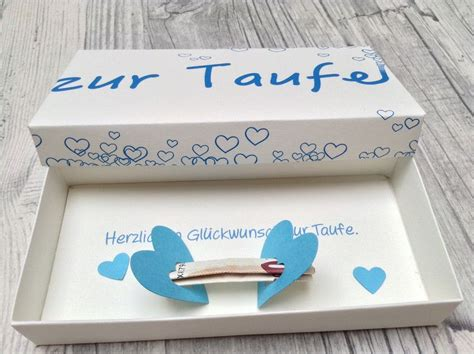 geldgeschenke geschenkbox zur taufe ein designerstueck