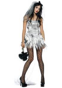 Scary costume ideas goth costumes sexy zombie wedding bride costume